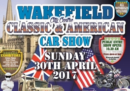West Riding support Wakefield Car Show